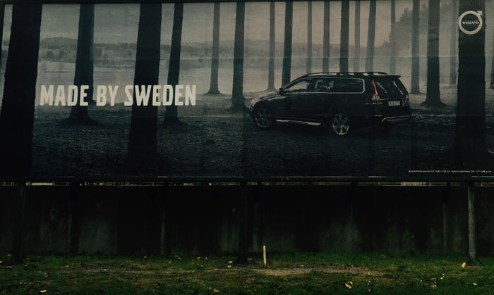 Volvo, Made By Sweden, på ledarplats